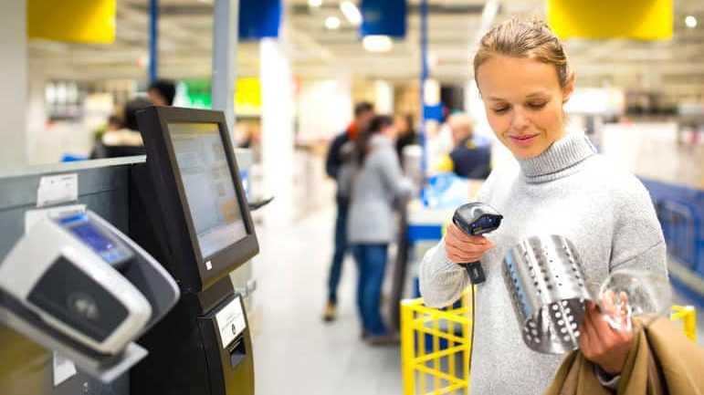 Caisses automatiques : un moyen de paiement qui progresse