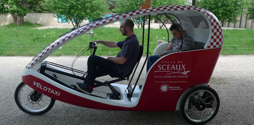 Vélo-taxi : un transport écologique
