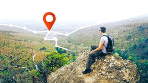 un point de géolocalisation un des services de cette application gratuite mon village