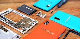 Le Fairphone 3 est un smartphone atypique, facile à démonter et donc à réparer.