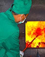 La CGT a décidé des blocages d'incinérateurs, situés en région parisienne.