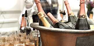 Les ventes de champagne français accusent une baisse préoccupante.