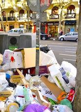 La saleté à Paris demeure un problème récurrent dans la Capitale.