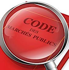 visuel du code en vigueur pour un accès aux marchés publics de services