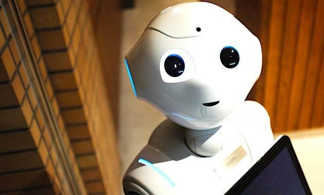 A la Cité Internationale de Lyon, le robot Pepper montrera qu'il peut contrôler le port du masque.
