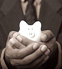 une tirelire pour illustrer la hausse des frais bancaires
