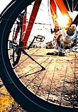 une roue de bicyclette pour illustrer l'aide à l'achat d'un vélo en Ile de France