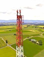 Les très hautes antennes relais, nécessaires à la 5G, risquent de polluer les paysages.