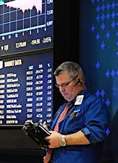 trader pour l'article de la chute de la Bourse