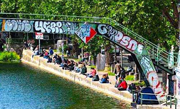 Limiter les attroupements : les bords de Seine surveillés par la police