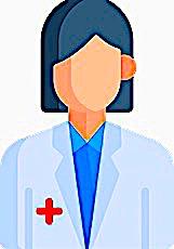 Dessin d'un personnage soignant pour illustrer le Ségur de la Santé
