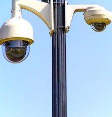 Les caméras de surveillance ont été envisagées pour lutter contre l'épidémie du coronavirus.