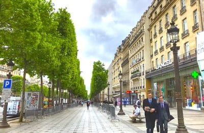 De nombreux Français souhaitent une amélioration de l'aménagement des Champs-Elysées.