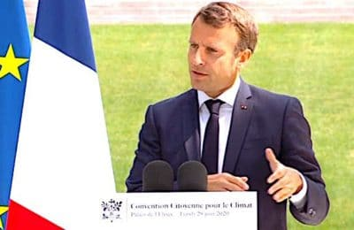 Une approbation globale des propositions de la Convention citoyenne a été la réponse d'Emmanuel Macron.