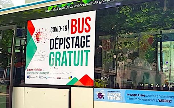 Bus de dépistage du coronavirus : Nancy donne accès à des tests gratuits