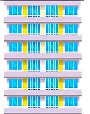 Une façade d'immeuble en illustration du dispositif d'aide au logement pour les plus précaires