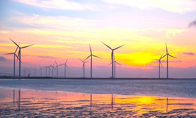Un nouveau parc d'éoliennes en mer est prévu dans le sud de la Bretagne.