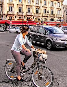 Les accidents de vélos dans la Capitale font naître actuellement une montée préoccupante