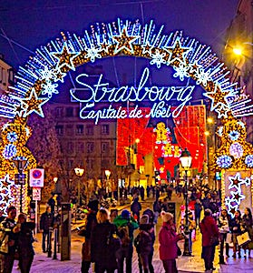 Cette année, le grand marché de Strasbourg devra supprimer ses chalets traditionnels et son sapin