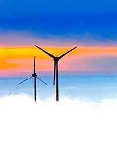 Un parc éolien citoyen montre un exemple de réussite en Bretagne.