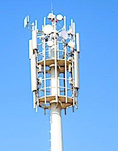 antenne relais et une attente pour la 5G