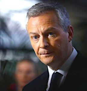 Portrait de Bruno Le Maire face à une opposition des petits commerces