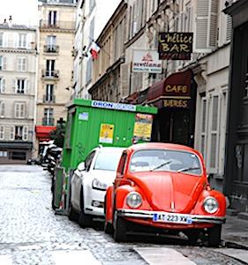 Avec la suppression des places de stationnement à Paris, la Capitale veut prendre un virage vert