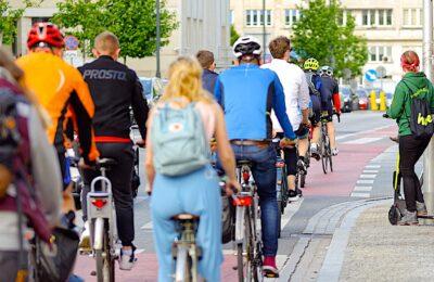 L'usage du vélo se développe dans les métropoles. L'application Geovelo permet de le mesurer.