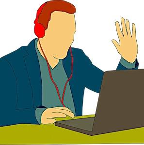 """Développement du Télétravail """"la formation en ligne"""""""