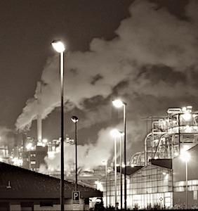 fumée de pollution pour le rôle aggravant de la 5G