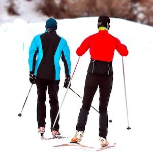 Le ski de fond est à nouveau autorisé en Haute-Savoie, pour le plus grand plaisir des vacanciers.