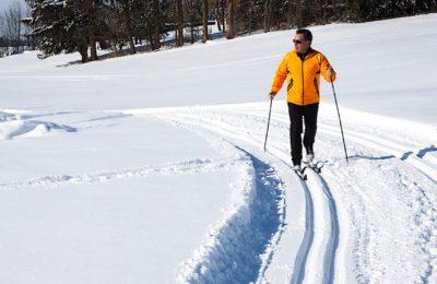 Le ski de fond a l'avantage de se passer des remontées mécaniques