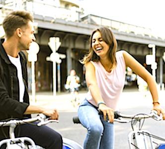 Le développement du vélo nécessite d'être intégré à l'urbanisme. L'application Geovelo aide à mieux l'anticiper.