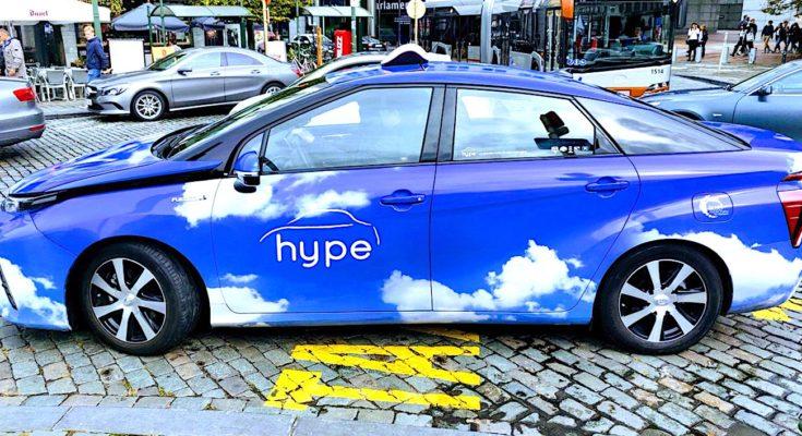 Paris accueille un nouveau type de taxis roulant à l'hydrogène