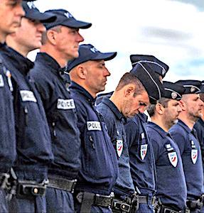 rang de policiers concernés par les nouveaux logements de la Police