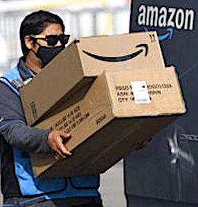 Les chauffeurs d'Amazon seront bientôt soumis à un contrôle permanent par caméras embarquées.
