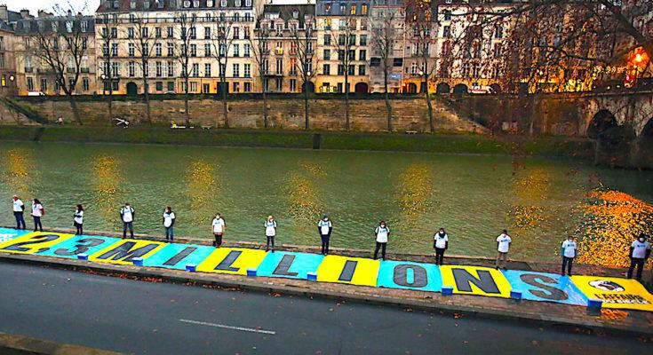 L'Etat français a reçu une sanction pour résultats insuffisants, pour son inactivité climatique