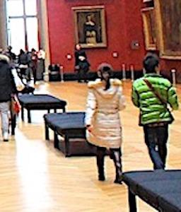 salle d'exposition dans le cadre d'une en force de musées