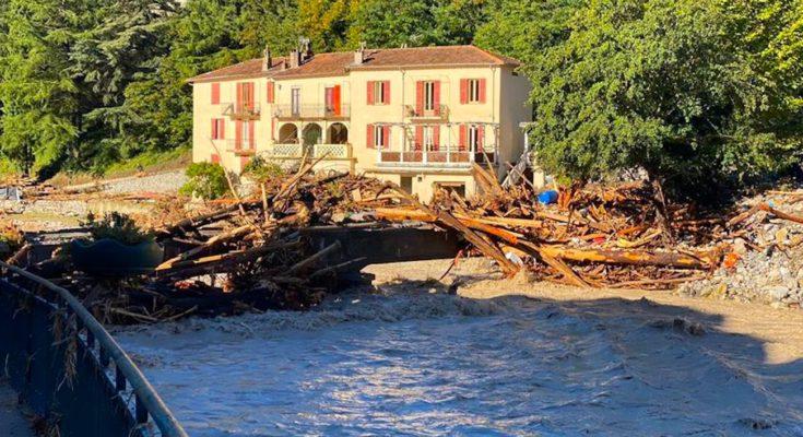 Pour désenclaver les habitants isolés de Breil-sur-Roya, il a fallu reconstruire un pont en urgence.