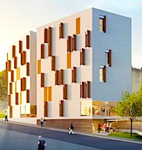 Grâce à un nouveau foyer pour les jeunes actifs, des logements accessibles sont proposés à Meudon.