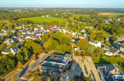 Lauzach est une commune labellisée bio, en Bretagne.