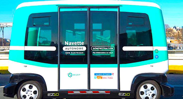 La RATP a inauguré une navette autonome dans le Val-de-Marne