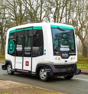 La RAPT a lancé une nouvelle ligne de navettes autonomes près du Bois de Vincennes, dans le Val-de-Marne.