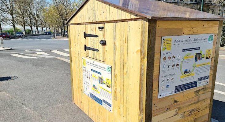 Deux nouveau chalets à compost installés à Caen montre la volonté de la ville de renforcer ses initiatives en faveur de l'environnement.
