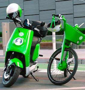Après les trottinettes et les vélos électriques, Lime a inauguré un lancement de scooters à Paris.