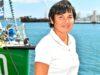 Annick Girardin, ministre de la Mer, veut apaiser la colère des marins-pêcheurs.