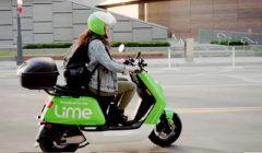 Le lancement de scooters à Paris par la société Lime va rapidement s'étoffer.