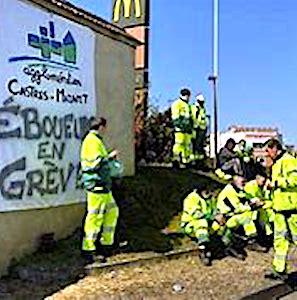 Une grève des éboueurs à Castres s'éternise. Aujourd'hui, 14 communes espèrent que ce conflit va se résoudre.