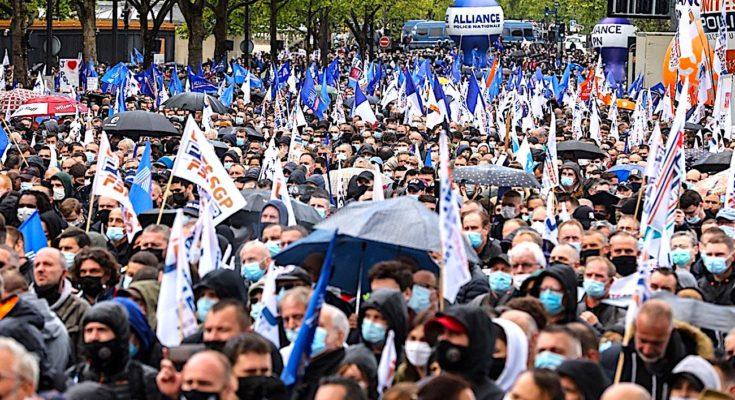 Rassemblement de la police à Paris : une sonnette d'alarme