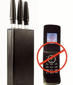 La police surveille les brouilleurs d'ondes, car ces appareils servent à commettre des cambriolages.